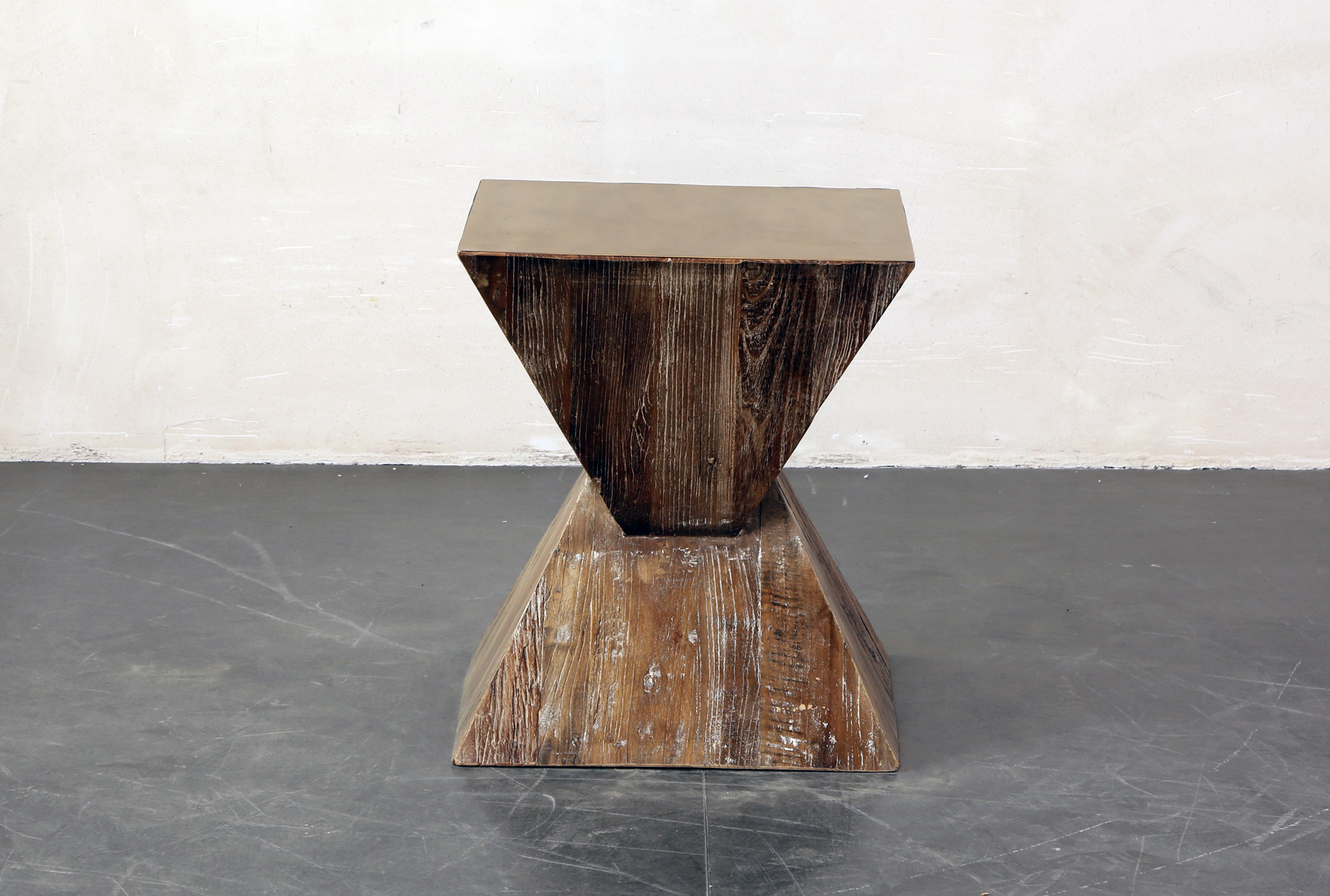 Inverted Triangle End Table (Qty: 1) Has Been Successfully Added To Your  Cart.