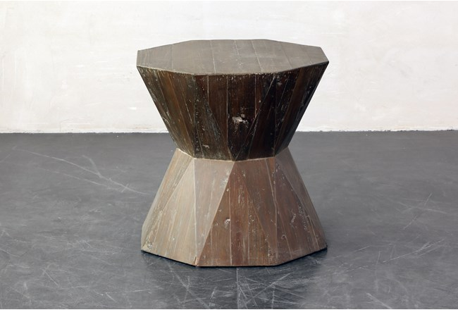 Inverted Hex End Table - 360