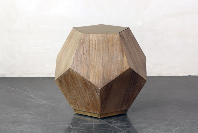 Structural Pentagon End Table - 360