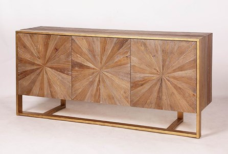 Starburst 3 Door Sideboard