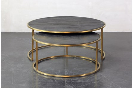 Nesting Coffee Table Set Of 2 - Main