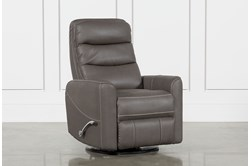 Hercules Grey Swivel Glider Recliner