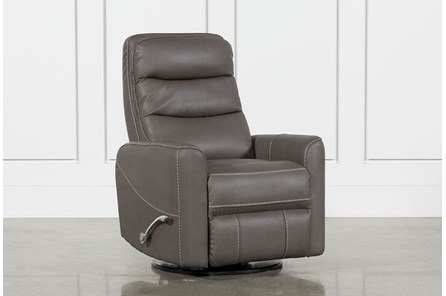 Hercules Grey Swivel Glider Recliner - Main