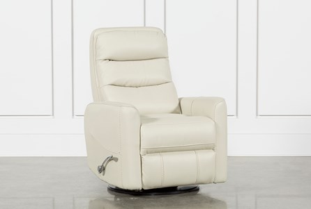 Hercules Oyster Swivel Glider Recliner With Articulating Headrest - Main