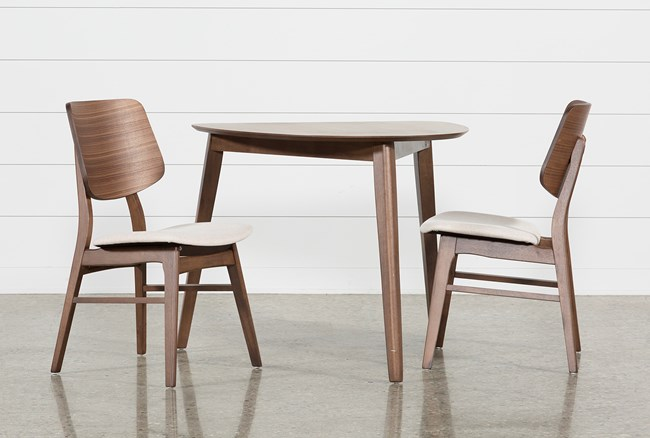 Carly 3 Piece Triangle Dining Set - 360