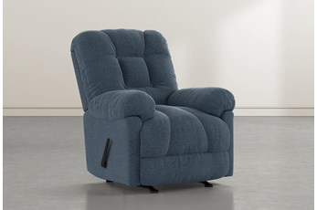 Tampa Denim Rocker Recliner