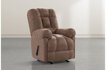 Tampa Brown Rocker Recliner