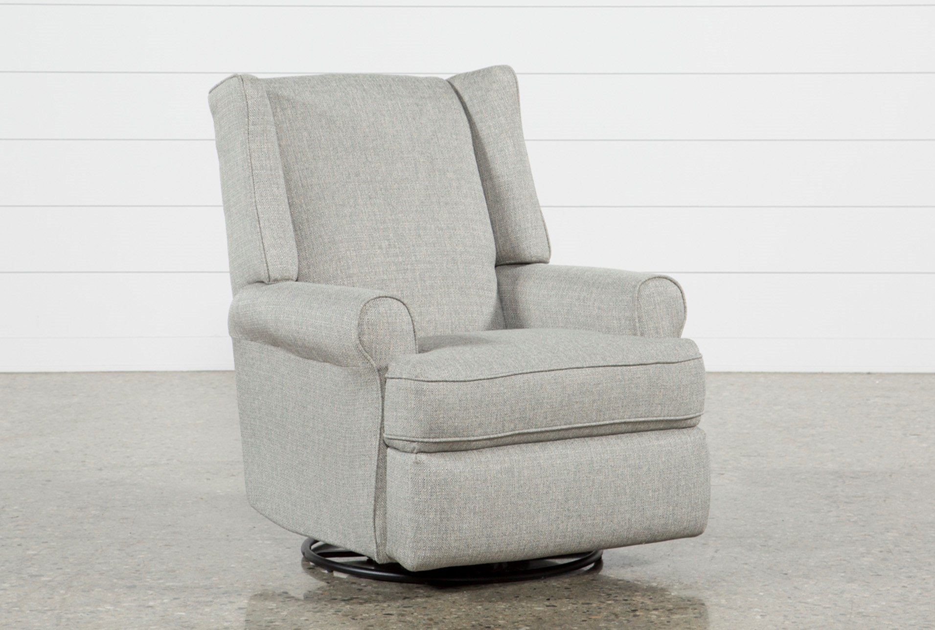 Mari Swivel Glider Recliner Living Spaces