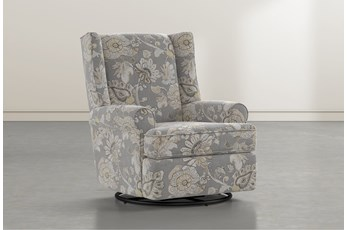 Mari Granite Swivel Glider Recliner