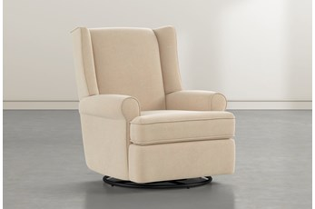 Mari Almond Swivel Glider Recliner