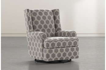 Mari Dove Swivel Glider Recliner