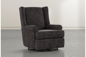 Mari Midnight Swivel Glider Recliner