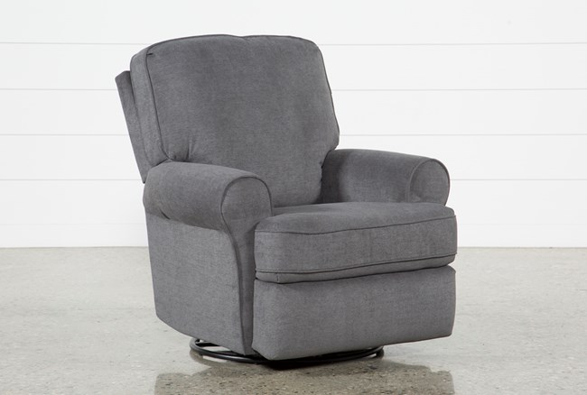 Abbey Swivel Glider Recliner Living Spaces