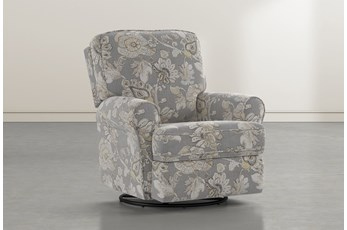 Abbey Granite Swivel Glider Recliner