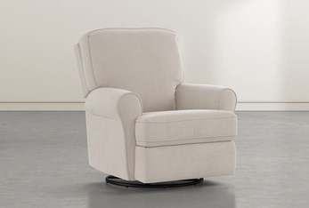 Abbey Taupe Swivel Glider Recliner