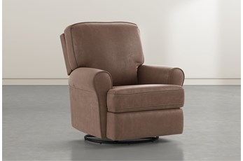 Abbey Brown Swivel Glider Recliner