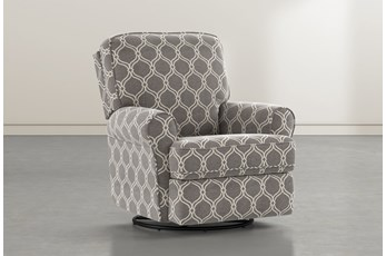 Abbey Dove Swivel Glider Recliner