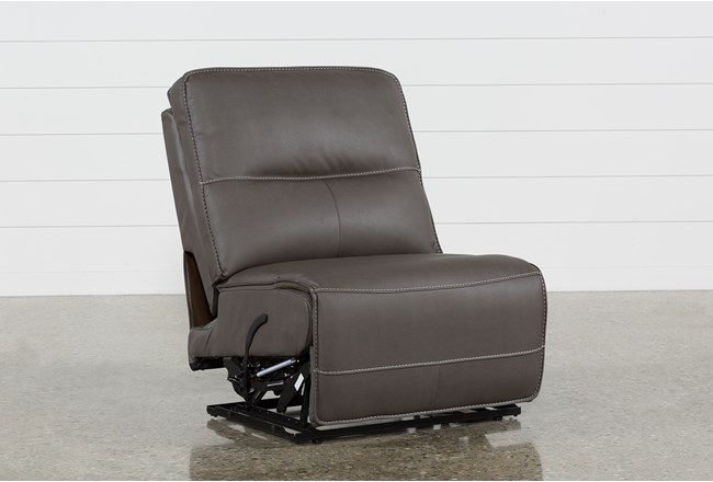 Marcus Grey Armless Recliner - 360