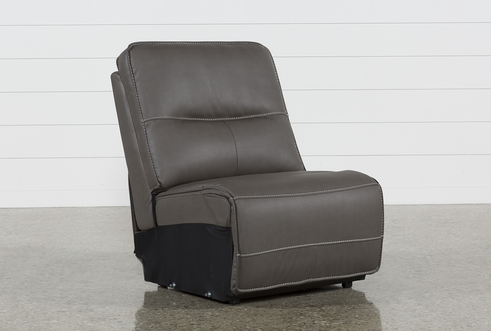 Marcus Grey Armless Chair (Qty: 1) Has Been Successfully Added To Your Cart.
