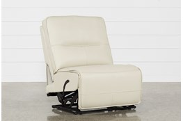 Marcus Oyster Armless Recliner
