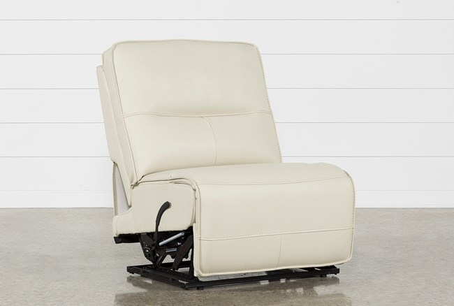 Marcus Oyster Armless Recliner - 360