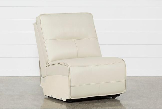 Marcus Oyster Armless Chair - 360