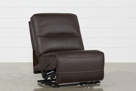 Marcus Chocolate Armless Recliner