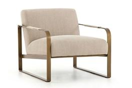 Stonewash Print Ecru Chair