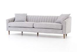 Manor Grey Channel Back Sofa