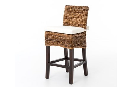 Banana Leaf Counter Stool With Cushion