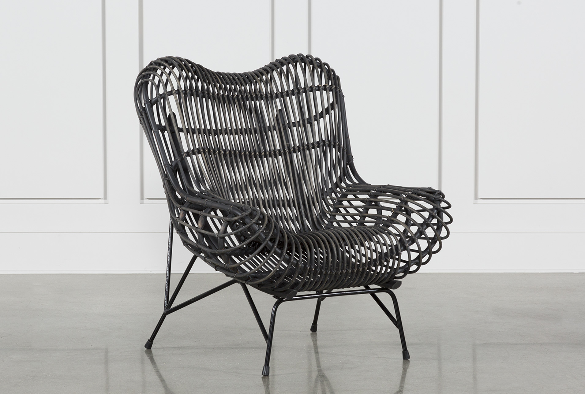 Wicker Occasional Chair   360 Elements
