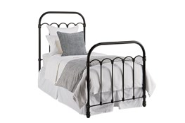 Magnolia Home Colonnade Twin Metal Panel Bed By Joanna Gaines