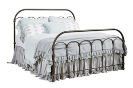 Magnolia Home Colonnade Full Metal Panel Bed By Joanna Gaines