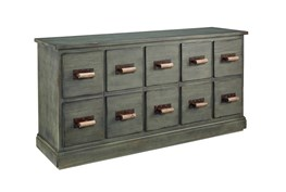 Magnolia Home Bin Patina 10 Drawer Dresser By Joanna Gaines
