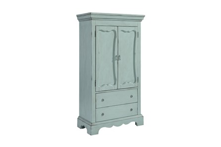 Magnolia Home Cameo French Blue Armoire By Joanna Gaines - Main
