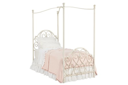 Magnolia Home Garden Gate Full Canopy Bed By Joanna Gaines - Main