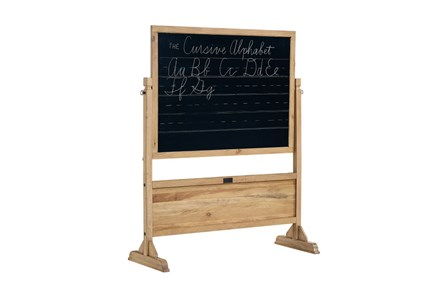 Magnolia Home Homeroom Wheat Standing Chalkboard By Joanna Gaines - Main