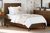 Magnolia Home Stacked Slat Full Panel Bed By Joanna Gaines - Room