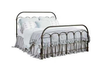 Magnolia Home Colonnade Eastern King Metal Panel Bed By Joanna Gaines