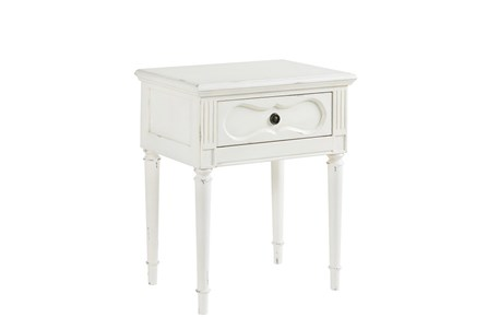 Magnolia Home Cameo Jo'S White Night Table By Joanna Gaines
