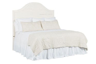 Magnolia Home Craft Jo'S White Eastern King Headboard By Joanna Gaines