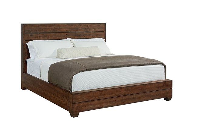 Magnolia Home Framework Queen Panel Bed By Joanna Gaines - 360