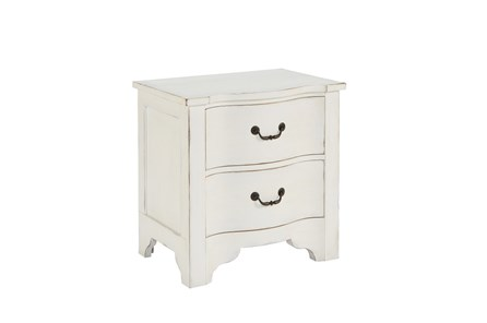 Magnolia Home La Grange Jo'S White Nightstand By Joanna Gaines - Main