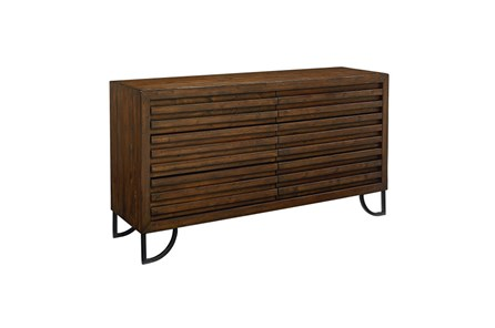 Magnolia Home Stacked Slat Dresser By Joanna Gaines - Main