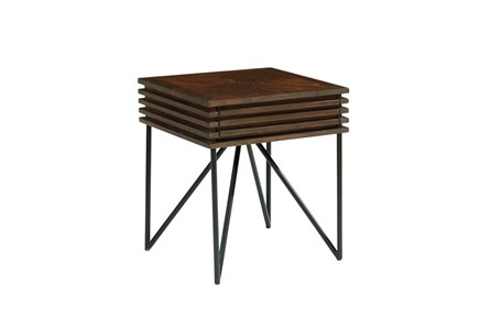 Magnolia Home Stacked Slat Side Table By Joanna Gaines
