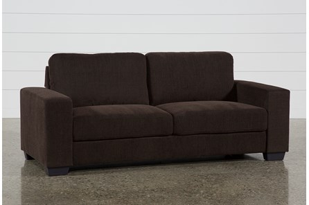 Jobs Dark Chocolate Sofa - Main