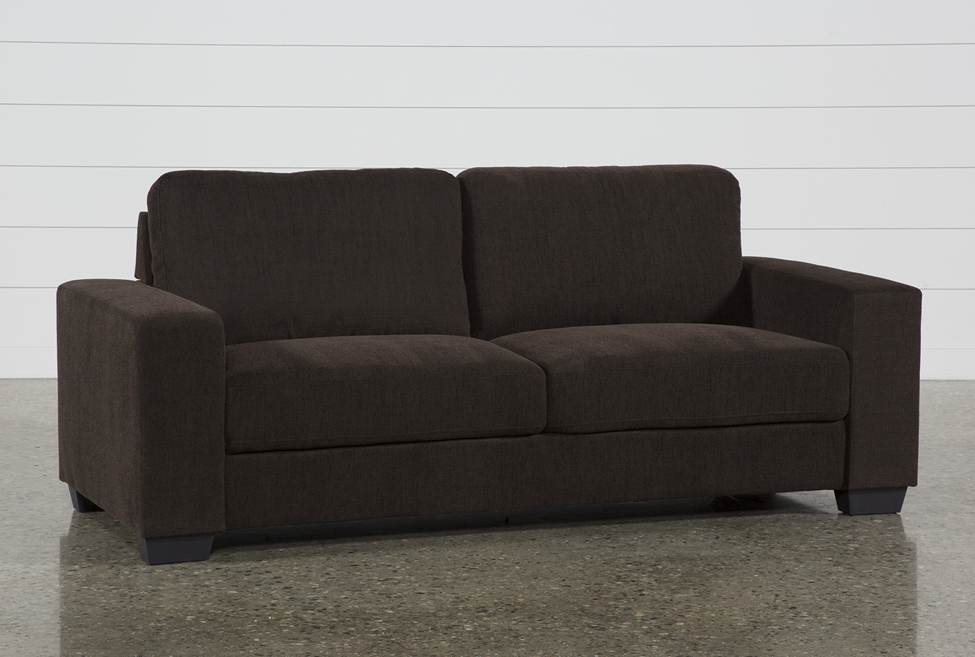 Jobs Dark Chocolate Sofa   360