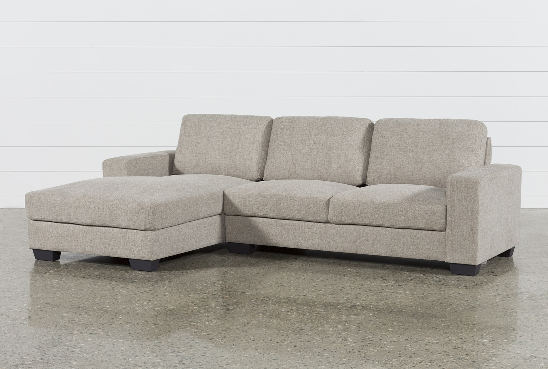 Jobs Oat 2 Piece Sectional With Left Facing Chaise