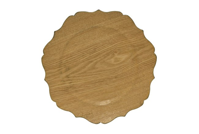 Wood Charger Plate - 360