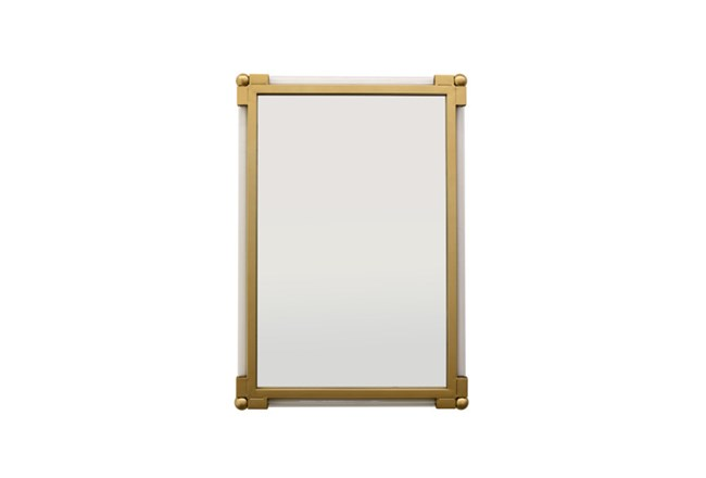 Gold And Lucite Wall Mirror - 360